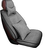 新款亚麻汽车坐垫座套 全包围四季通用 专车专用 座椅套 冬款坐套座垫