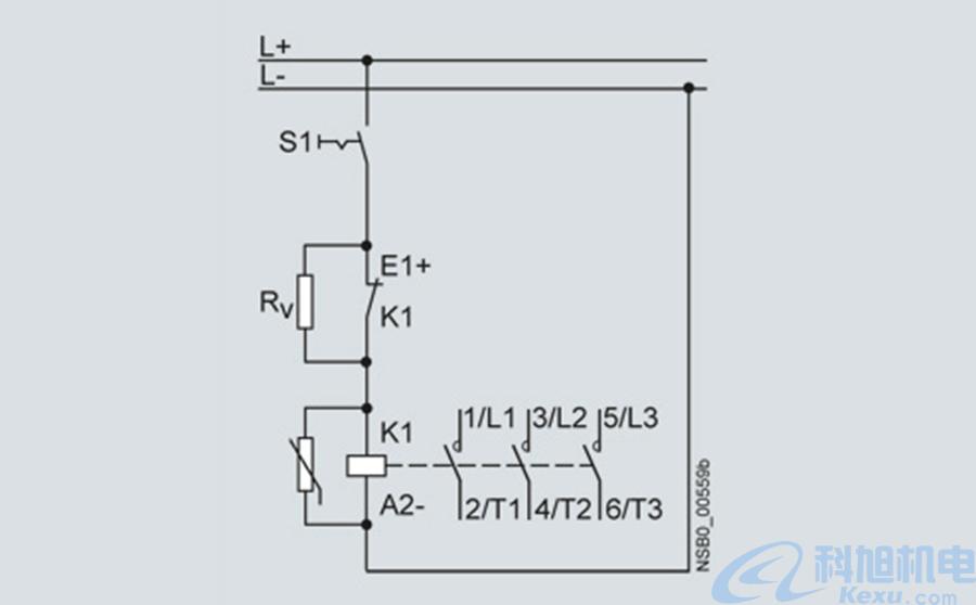 西门子接触器3RT1系列型号参数及应用电路图三