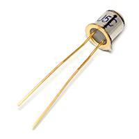 三极管 3DU5C 光敏三极管 硅光敏晶体管 两脚 金属封装 2脚