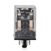 正泰CHNT 通用型大功率电磁小型继电器 JTX-2C AC220V DC24V 2组8脚