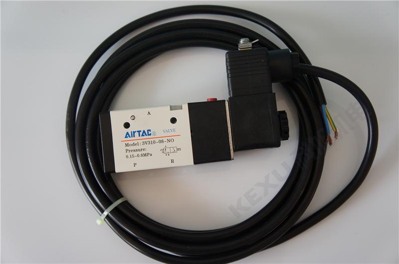 亚德客防爆电磁阀B03-4V320-08电磁阀+防爆型电圈 二位五通 原装正品 产品图片2