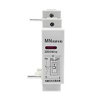 光伏并网电磁式过欠压脱扣器失压保护停电自动跳闸 来电手动合闸