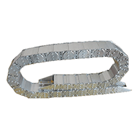 钢制 钢铝金属不锈钢机床拖链 坦克链 油管水管拖链 电缆拖链