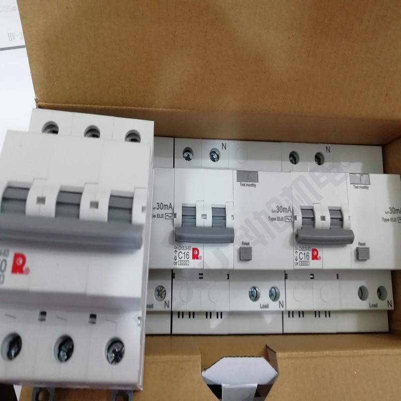 常熟开关漏电断路器CH3LN-63C63A/3N/030E带剩余电流保护 原装正品 产品实拍3