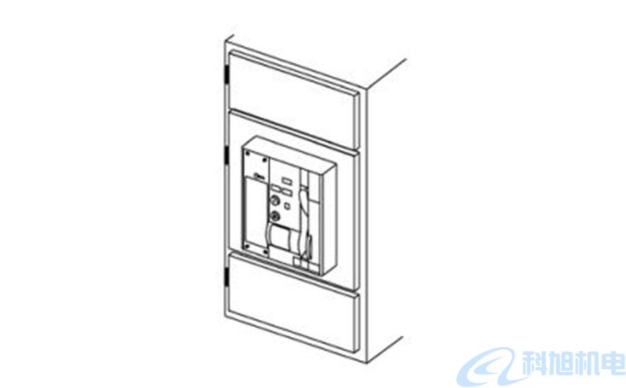 西门子断路器3WT关闭控制柜门