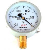 红旗 真空压力表 水压表油压表气压表 YZ-60 2.5级