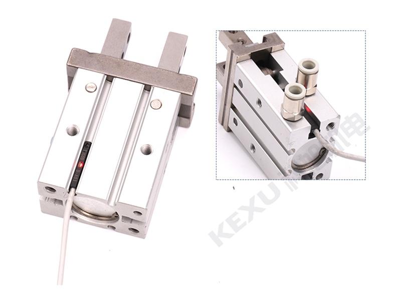 SMC手指气缸MHZ2-25SN平行机械手气爪 原装正品 产品图片