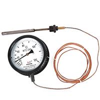 压力式温度计 WTZ-280 工业锅炉用指针温度表 远传温度计表盘式测温仪