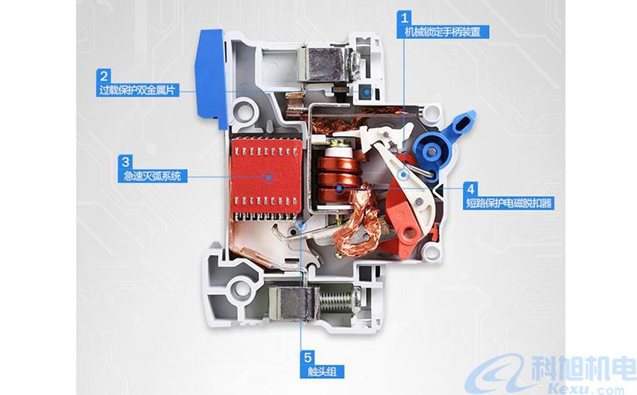 漏电脱扣器电子式与电磁式的区别一