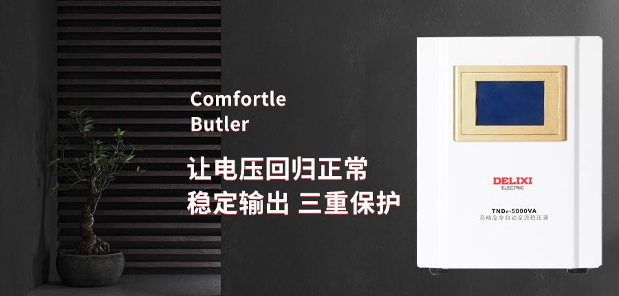 德力西稳压器5000w稳压器家用220v稳压器海报说明