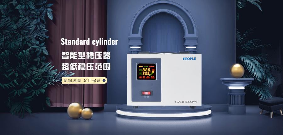 人民电器稳压器SVCIII-1K家用电源保护海报说明