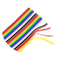 彩排线杜邦线排线1.27mm间距 2.54mmFC/IDC连接线头 规格齐全