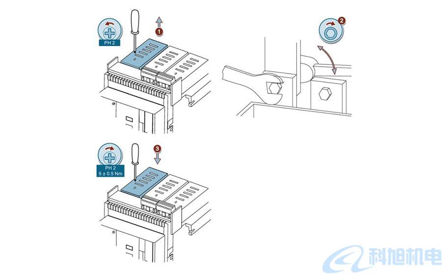 西门子断路器3WT主回路的连接二