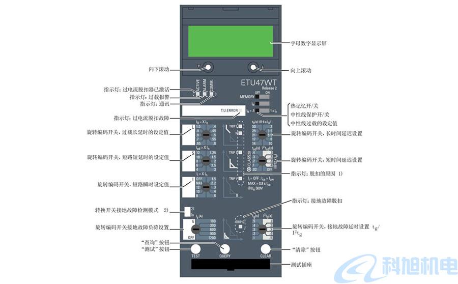 西门子断路器过电流脱扣器和功能十一