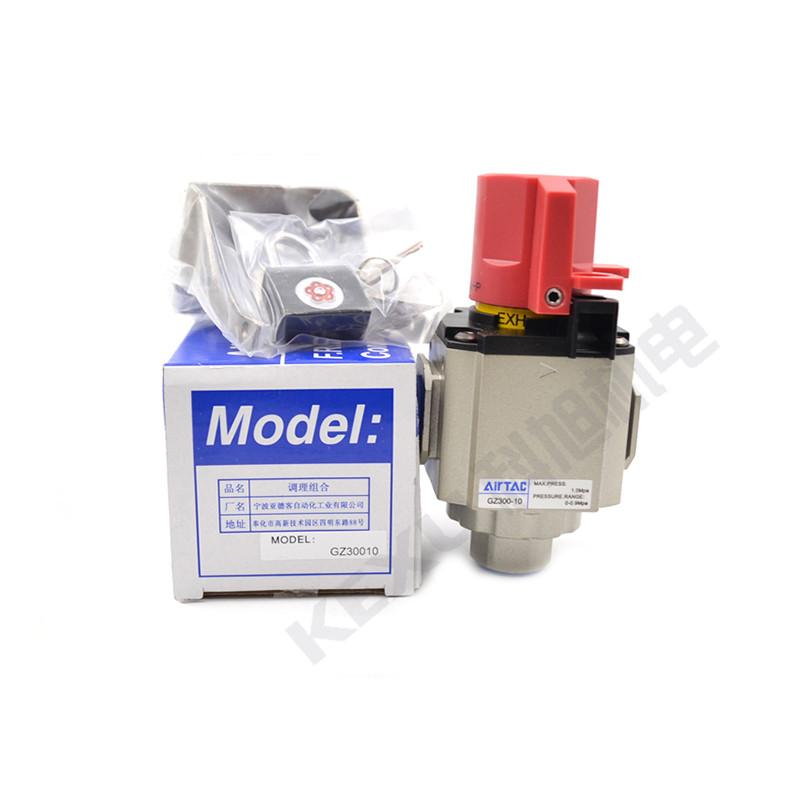 亚德客气动截止阀GZ400-08气源处理器截止阀 气动元件 原装正品 产品图片1