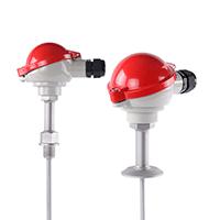 铠装热电阻 K型热电偶Pt100WRNK铠装热电偶 温度传感器变送器