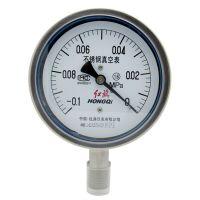 红旗 不锈钢压力表 高温径向压力表 Y-100BF 0-60Mpa 全规格